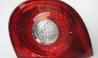 Achterlicht/kentekenverlichting/reflectoren/schakelaar koppeling en rempedaal